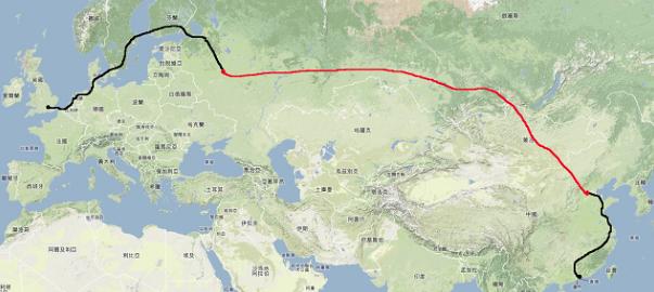 """Klicka på bilden för att komma till hemsidan """"Walk from Hong Kong to London""""."""